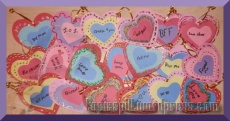Authentic Necco Conversation Sweethearts Candy Messages