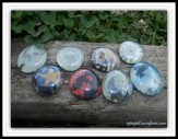 floating glass marbles