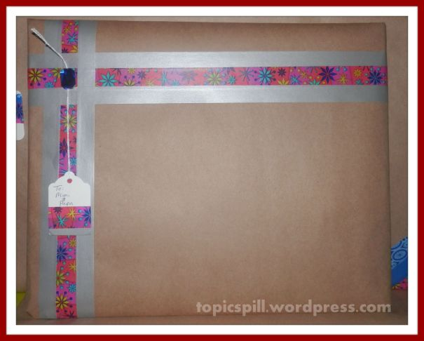 Washi Tape Christmas Gift Wrapping 8