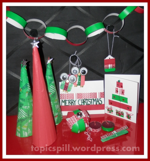 Washi Tape Christmas Projects 2