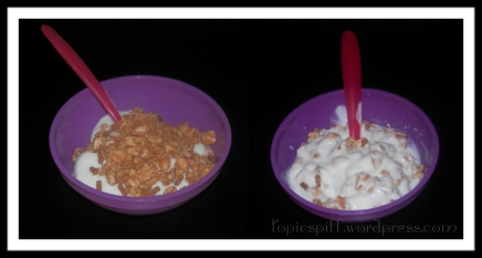 Fiber One Protein Cereal Maple Brown Sugar In Yogurt